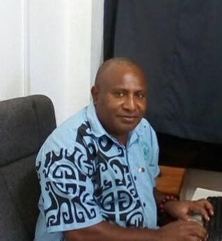 Chairman of La Francophone Day, Gaetan Ruru