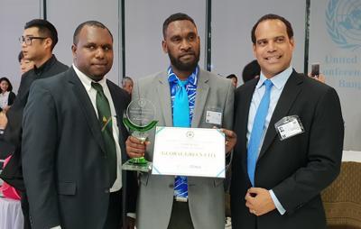 Port Vila wins Global Green City award
