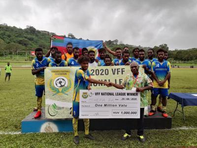 Shefa FA hemi VFF nasonal jampionsip lik jampion