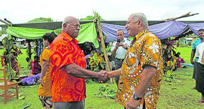 A clash of heavy weights for Fiji's election
