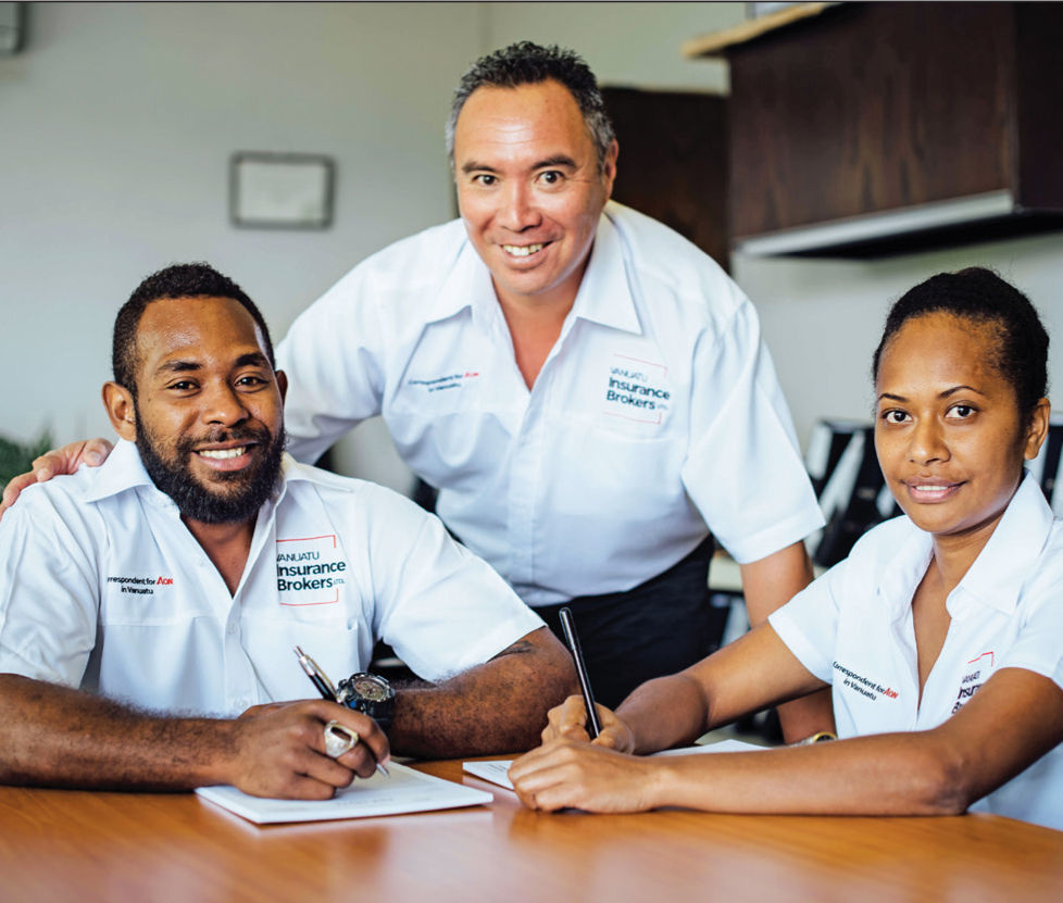 Vanuatu Insurance Brokers are locally focused, nationally resourced and internationally endorsed