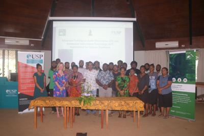 USP Emalus Campus hosts Advanced Training on EO and GIT Applications for Climate Resilience