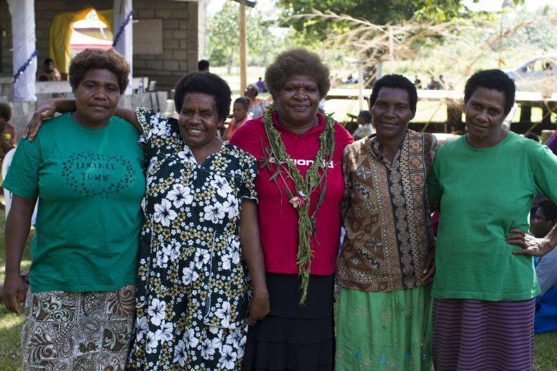 Women in Vanuatu are taking ownership