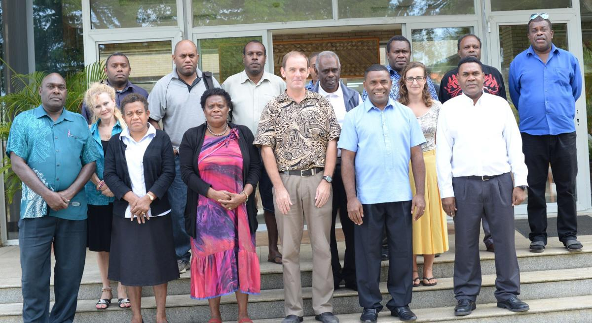 Solomon and Vanuatu holds Physical planning seminar
