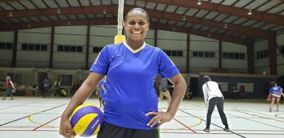Vanuatu players boost community-based volleyball tournament