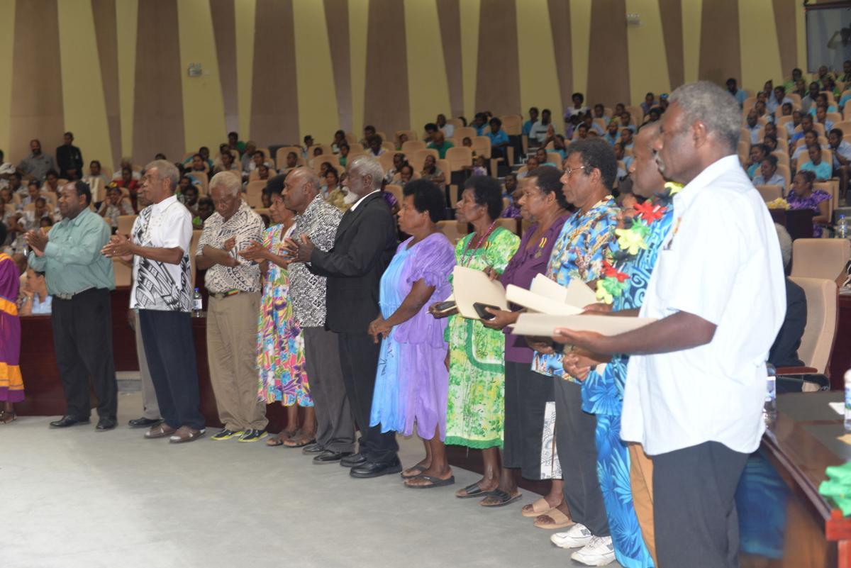 21 retired teachers recognized for years of service