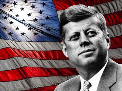 John F Kennedy, when he became the 35th President of the USA