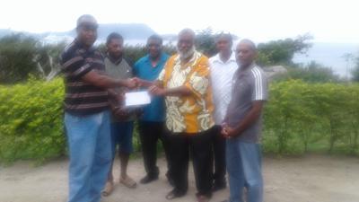 SPGC donates Vt150,000 to South Efate Shefa Football Association