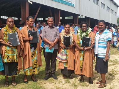 Four ECE teachers with certificate 3