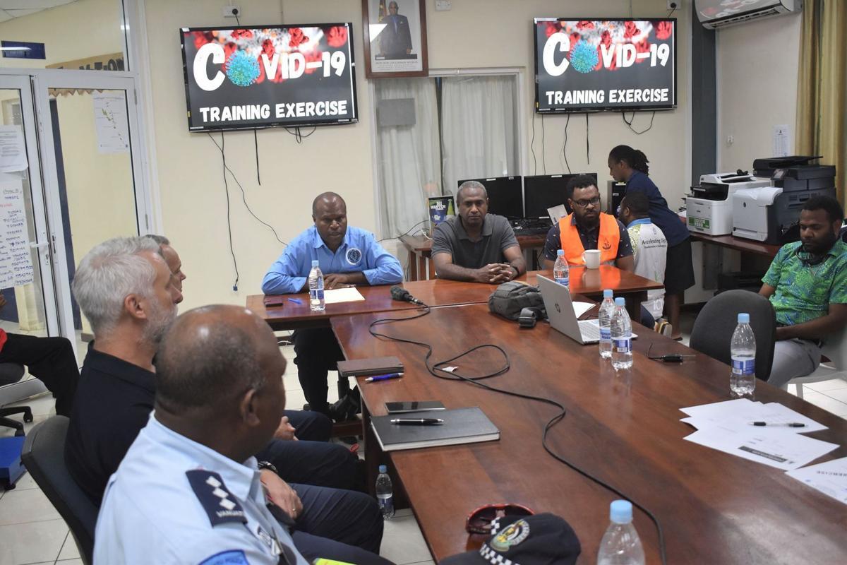 Port Vila lockdown simulation planned