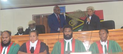 First Ni-Vanuatu Female Supreme Court Judge
