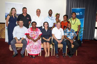 Major sponsors of Toktok Vanuatu 2018 sign agreement with VTO