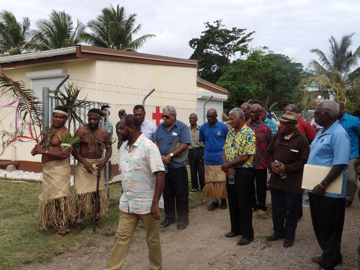 Minister officially opens Pango village health center
