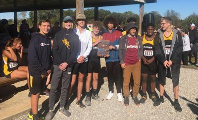 McMinn County boys' cross country state-bound