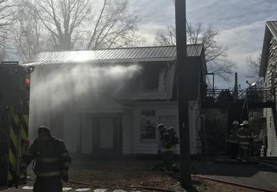 South Jackson fire