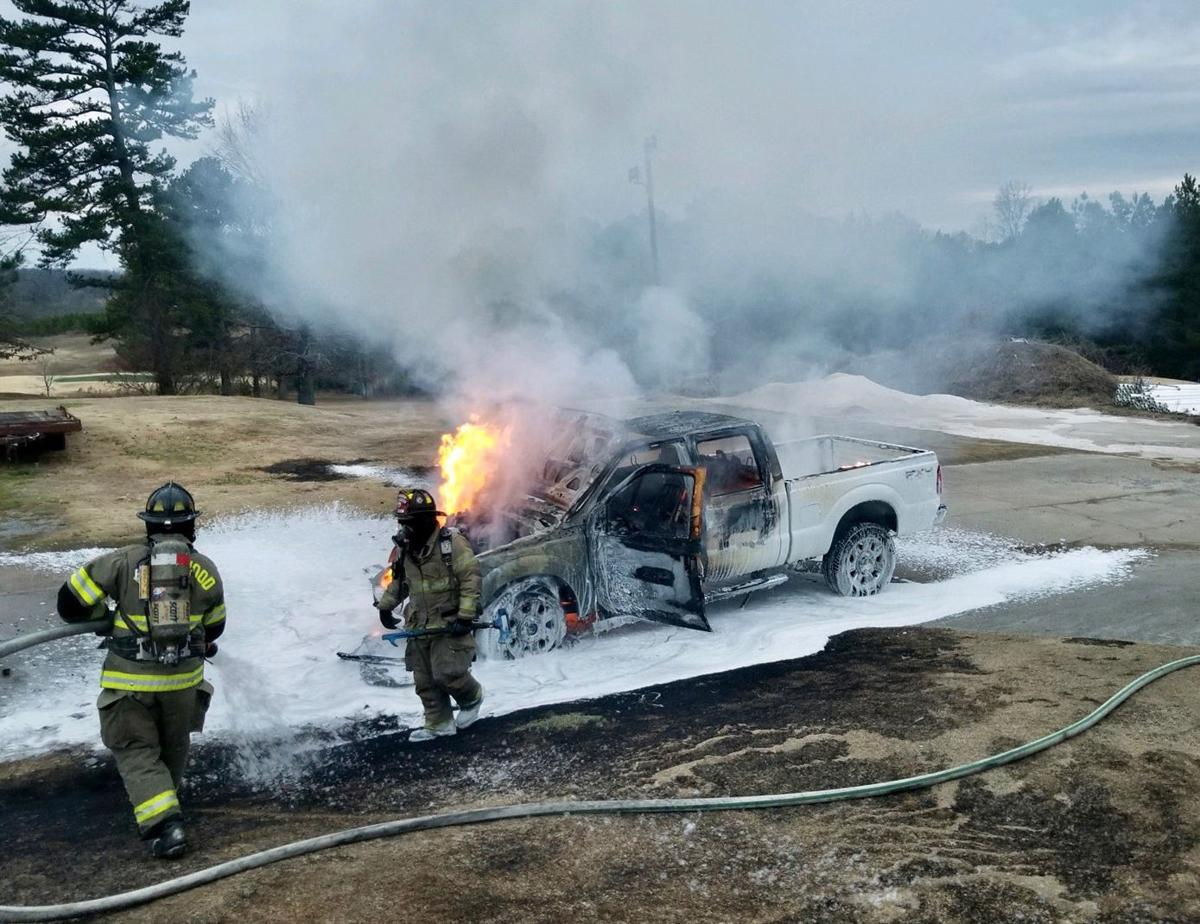 Vehicle fire at Ridgewood