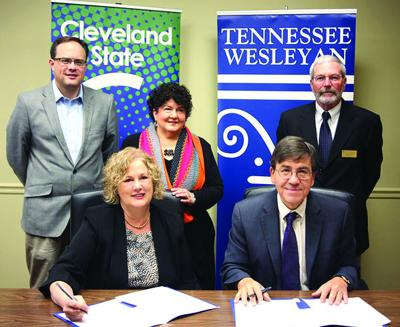 TWC, Cleveland State sign early childhood education