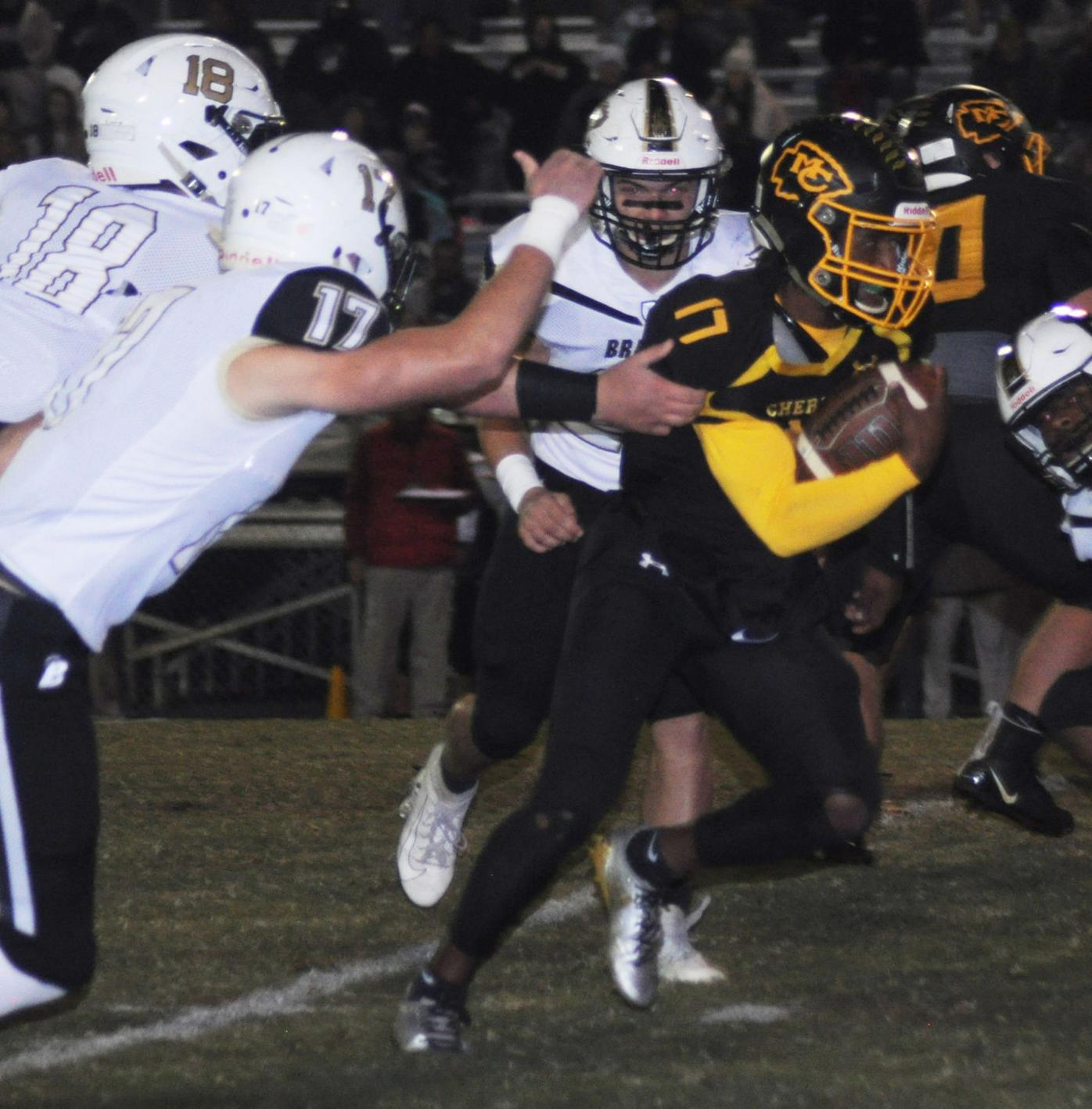 FILE – McMinn's Jalen Hunt vs. Bradley