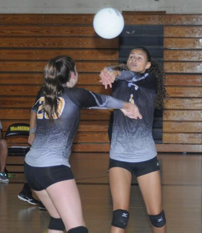 FILE – McMinn volleyball