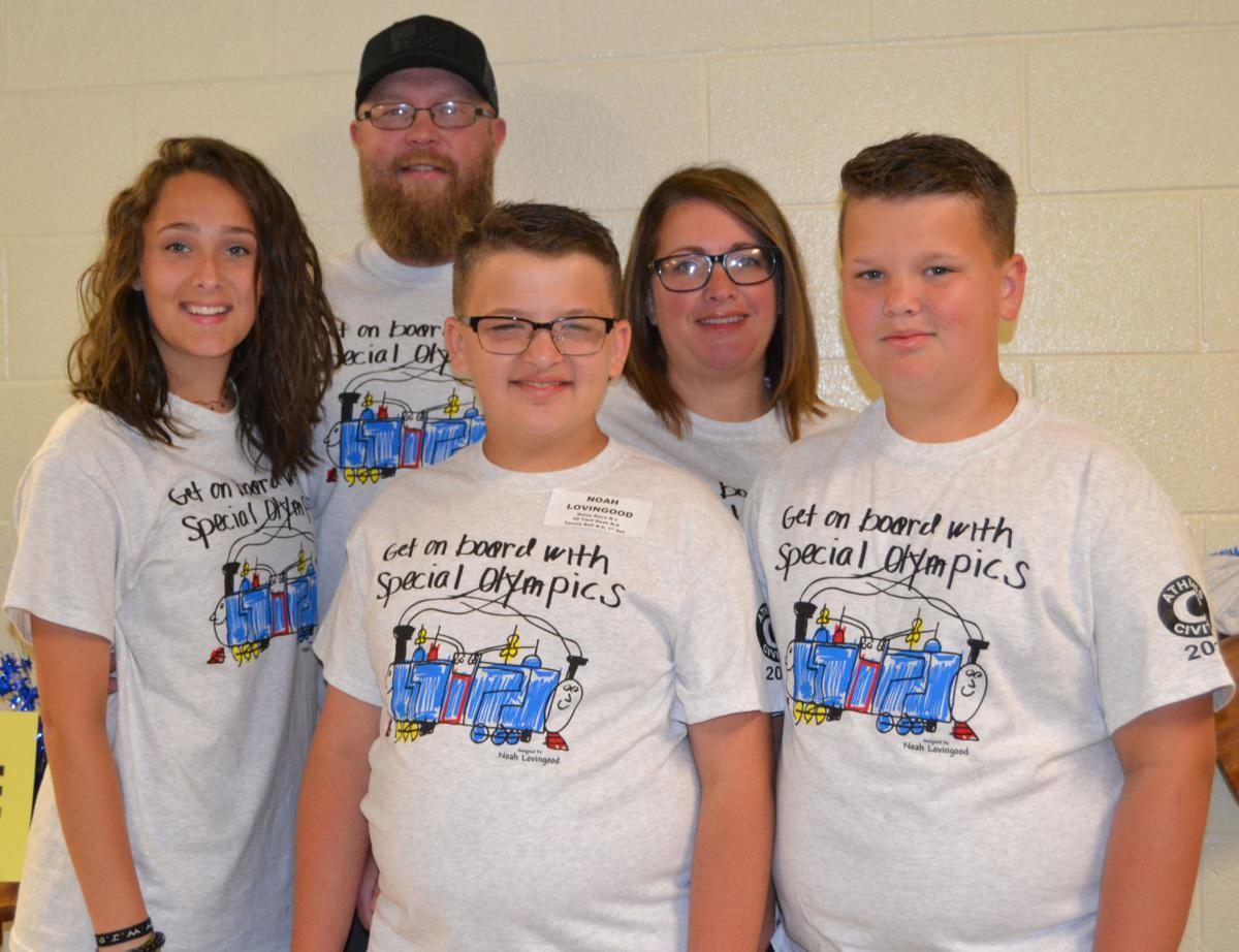 Special Olympics T-shirt Design Winner