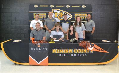 Andrew Beavers signs with Milligan