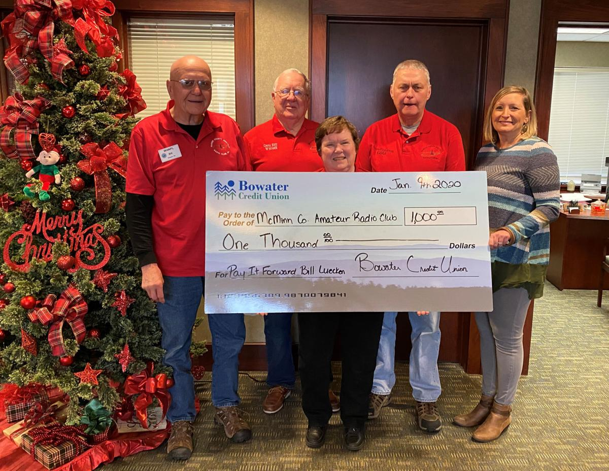 Is Bcu Open On Christmas Eve 2020 Bowater Credit Union announces donation to McMinn radio club