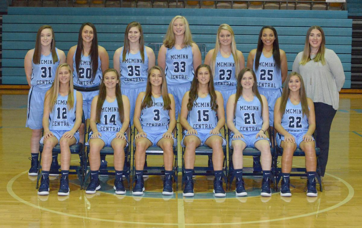 2018-2019 McMinn Central Chargerettes