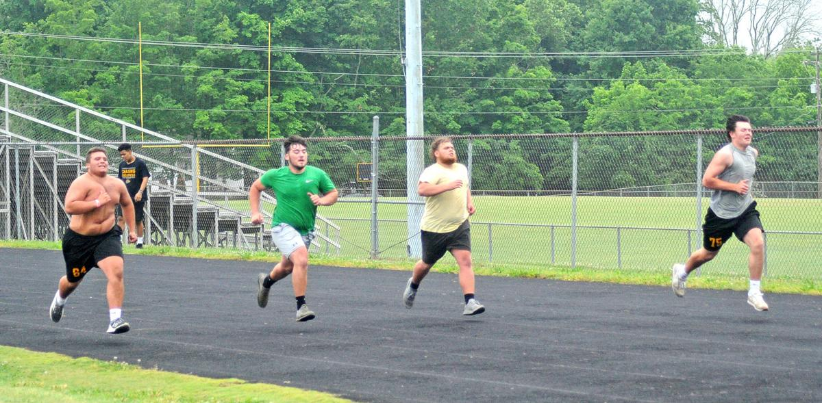 Linemen on the run