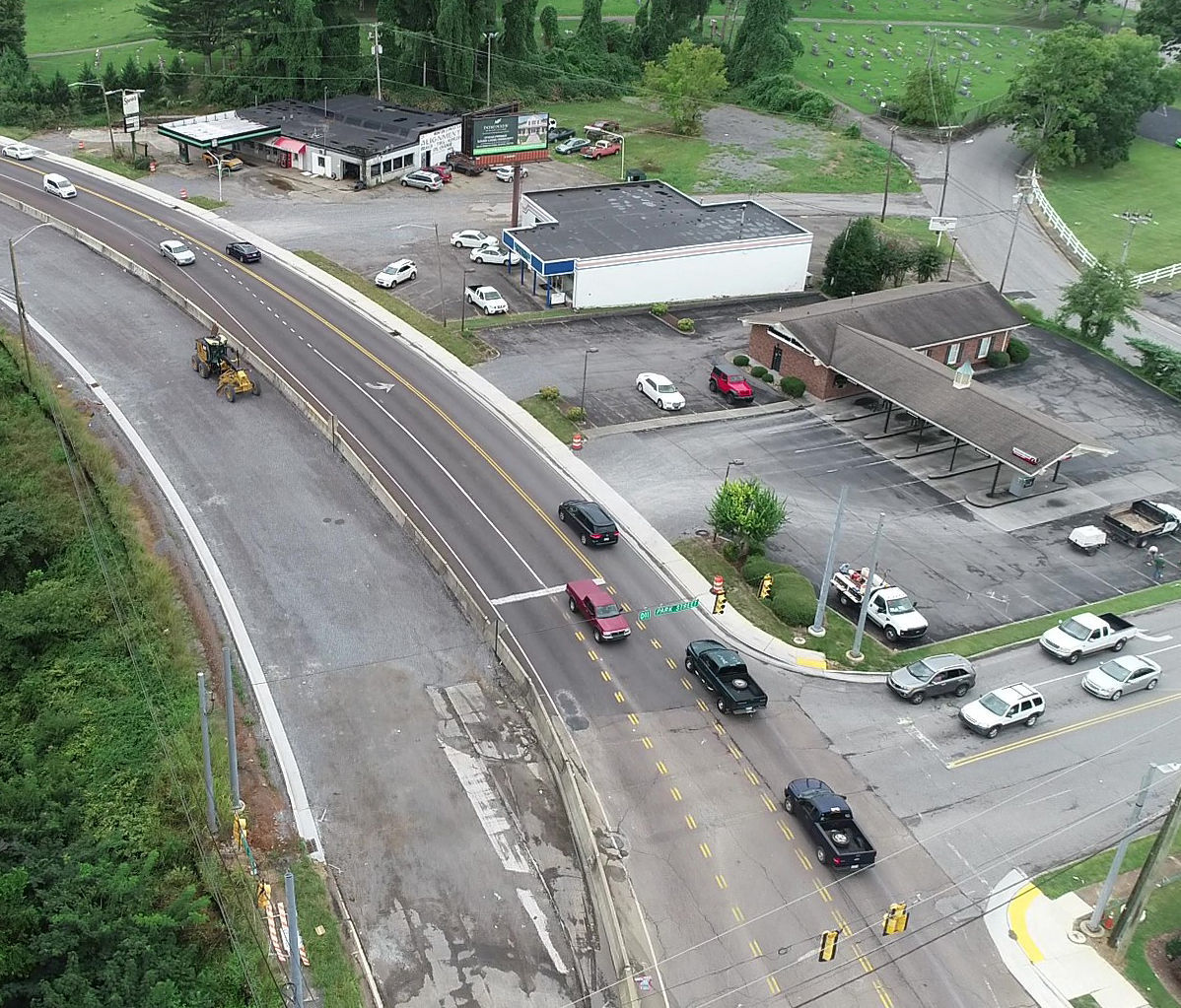 Highway 30 construction