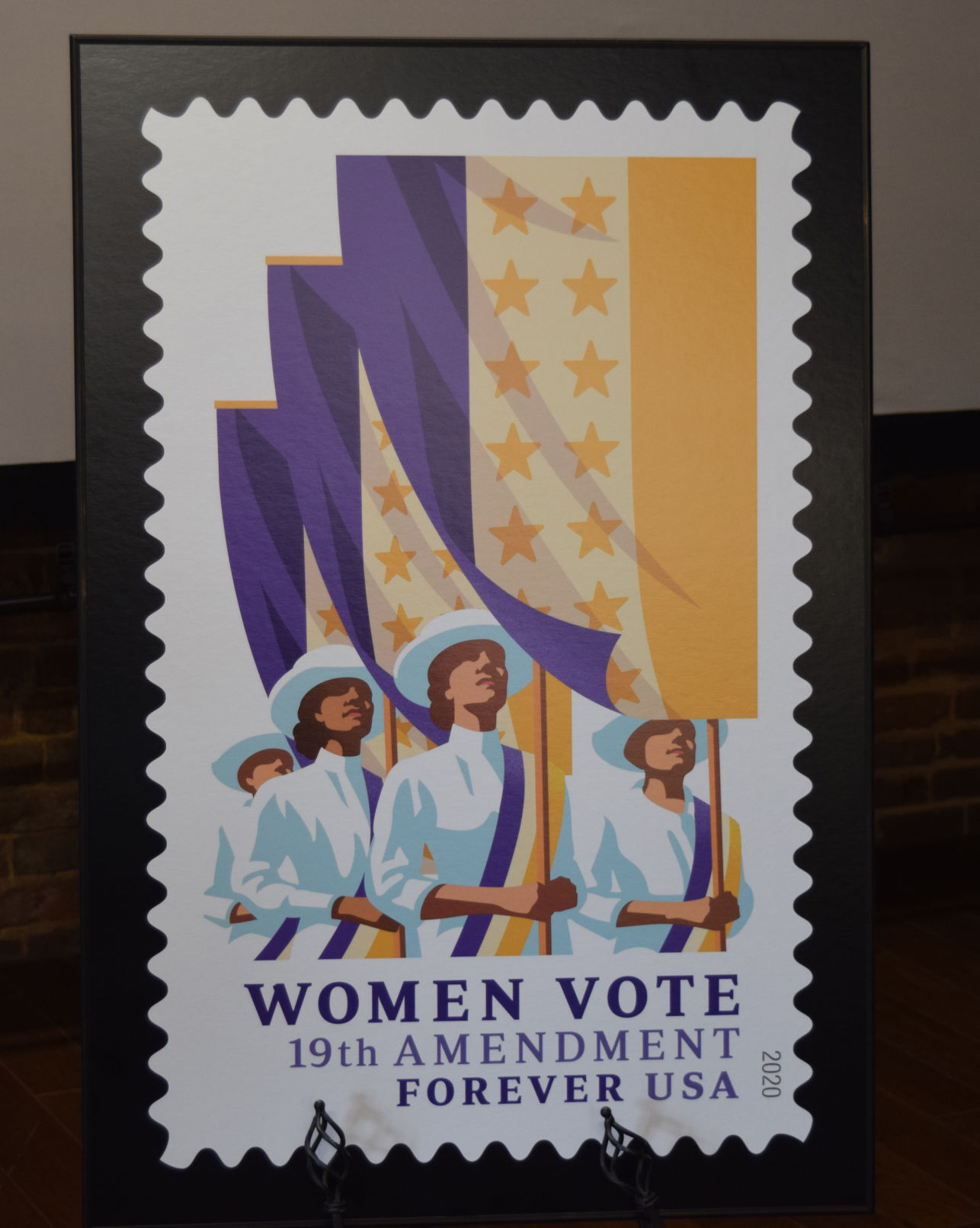 19th Amendment stamp unveiling