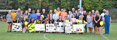 Soccer Lady Cherokees celebrate seniors