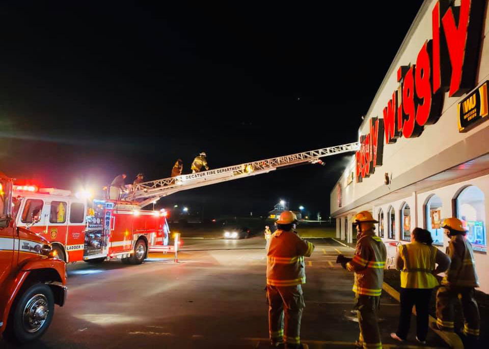 Fire at Decatur Piggly Wiggly