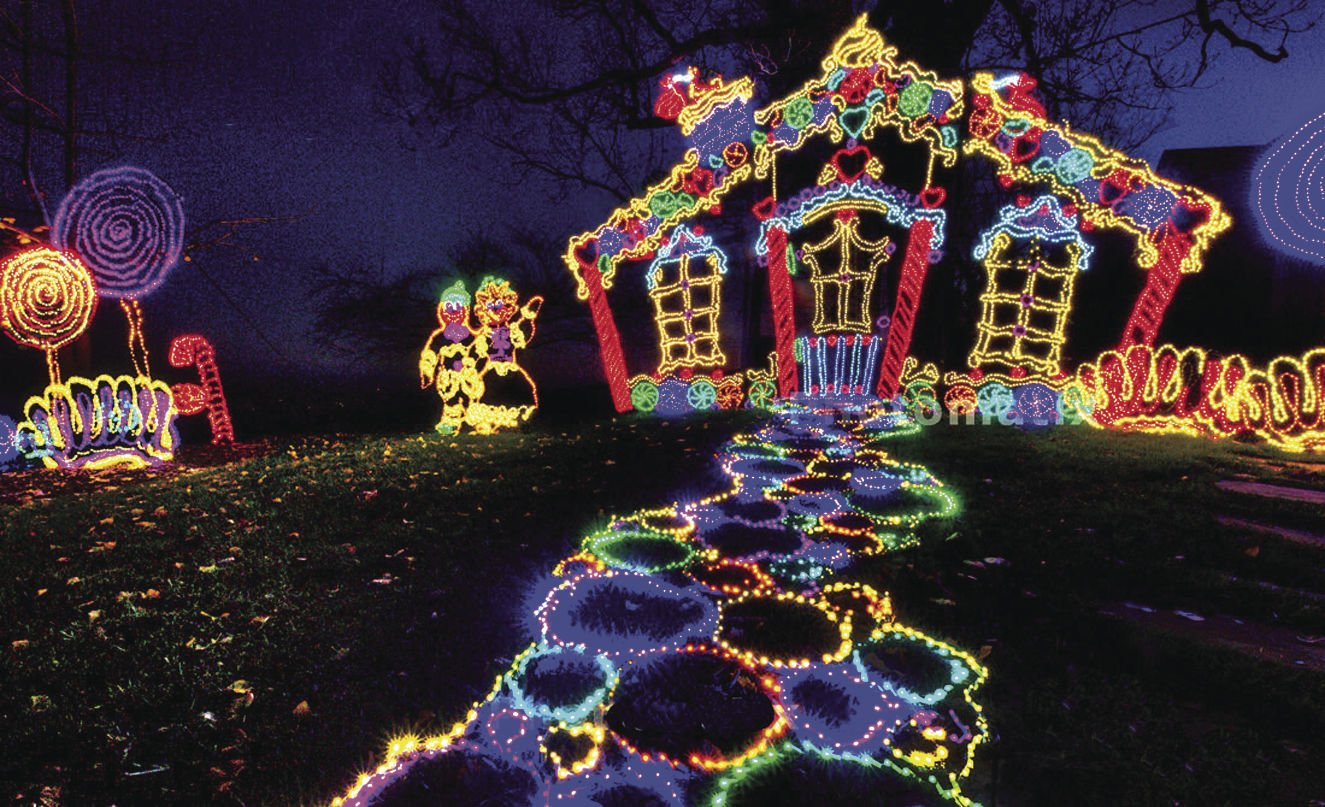 Enchanted Garden Of Lights Opens Nov. 17