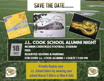 J.L. Cook School Alumni Night at McMinn