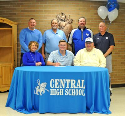 Central's Bradley Dunkle signs with TWU