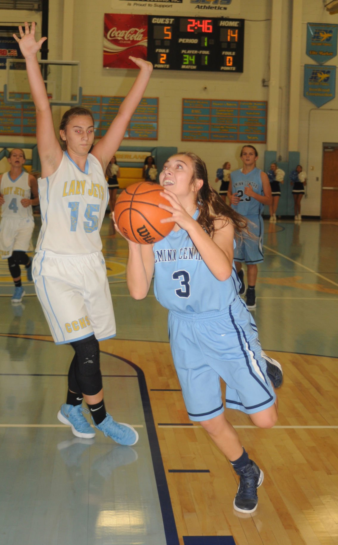 PROMO ONLY - Central girls basketball