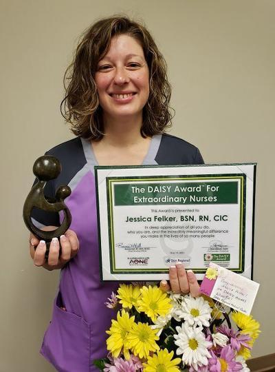 Felker earns DAISY award