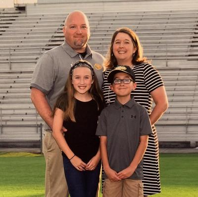 Mark Rogers and family