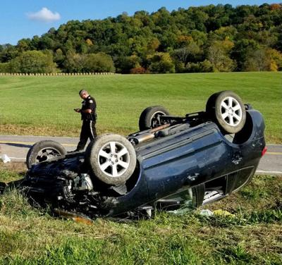 Overturned vehicle leads to fatality