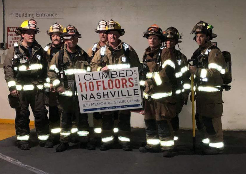 firefighters climb to never forget