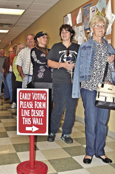 Early voting starts
