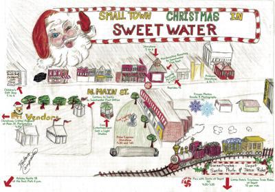 Small Town Christmas Map