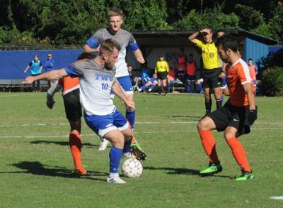 FILE – TWU men's soccer