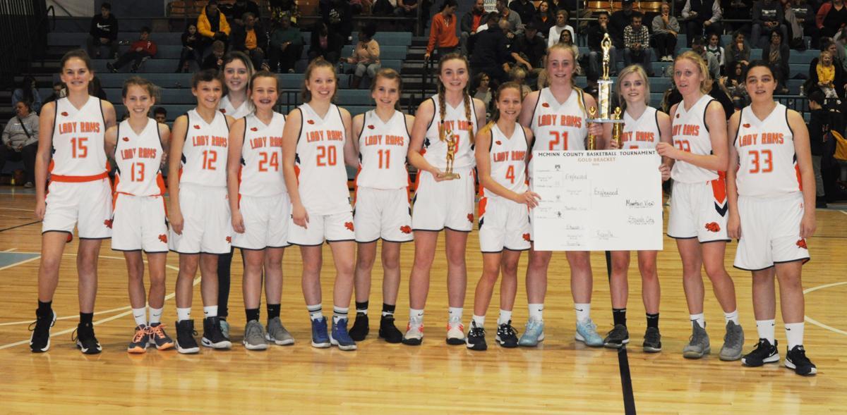 Girls Gold Bracket Champions – Englewood Lady Rams