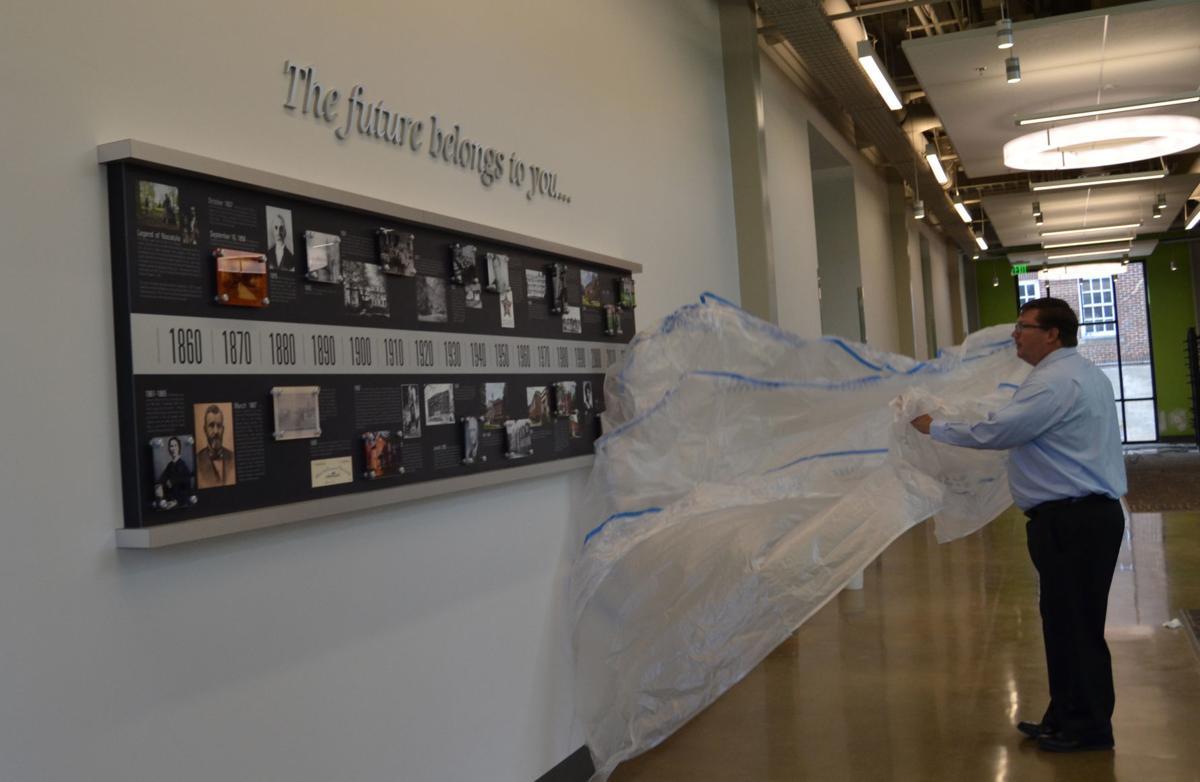 Colloms Campus Center unveiling