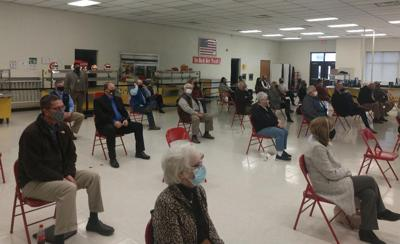 State officials talk COVID at Sequoyah