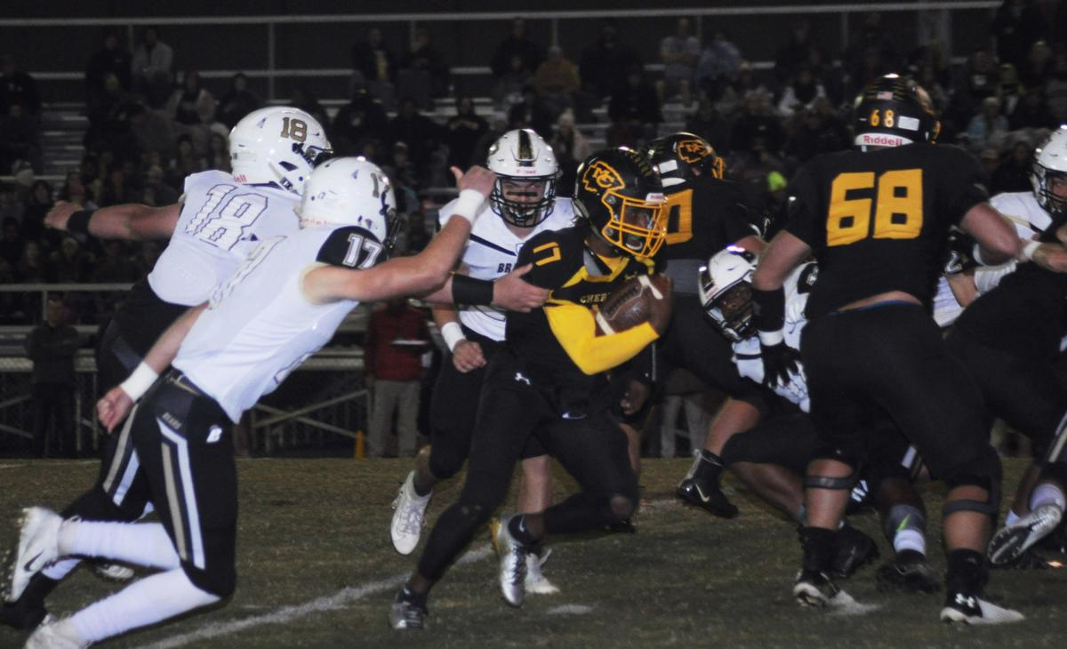 MAIN – McMinn County's Jalen Hunt for a touchdown