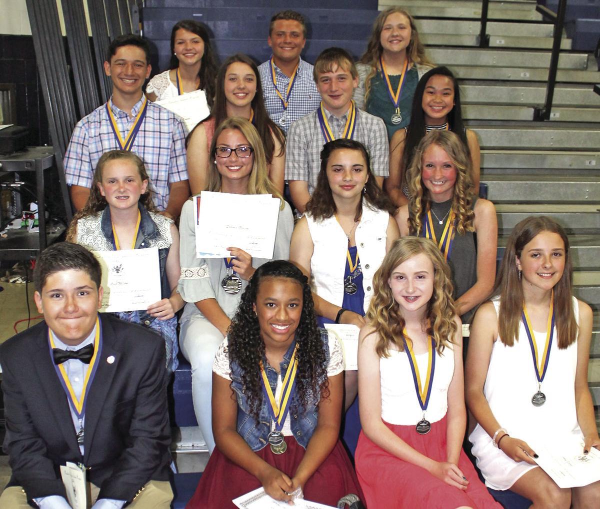 Riceville Elementary School 8th Grade Awards Schools