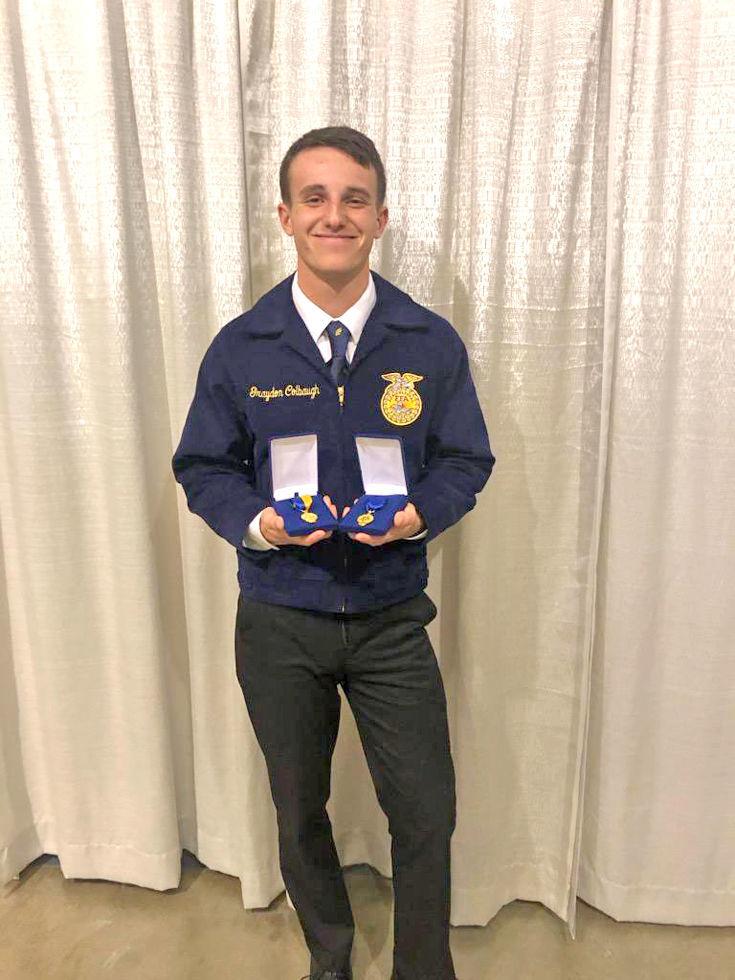 Colbaugh receives profiency award