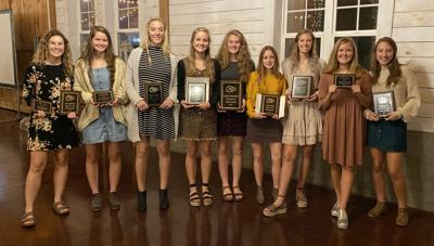 McMinn girls' soccer award winners